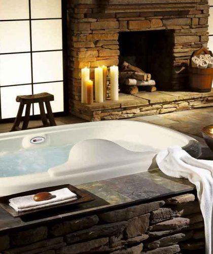 Baño relajante