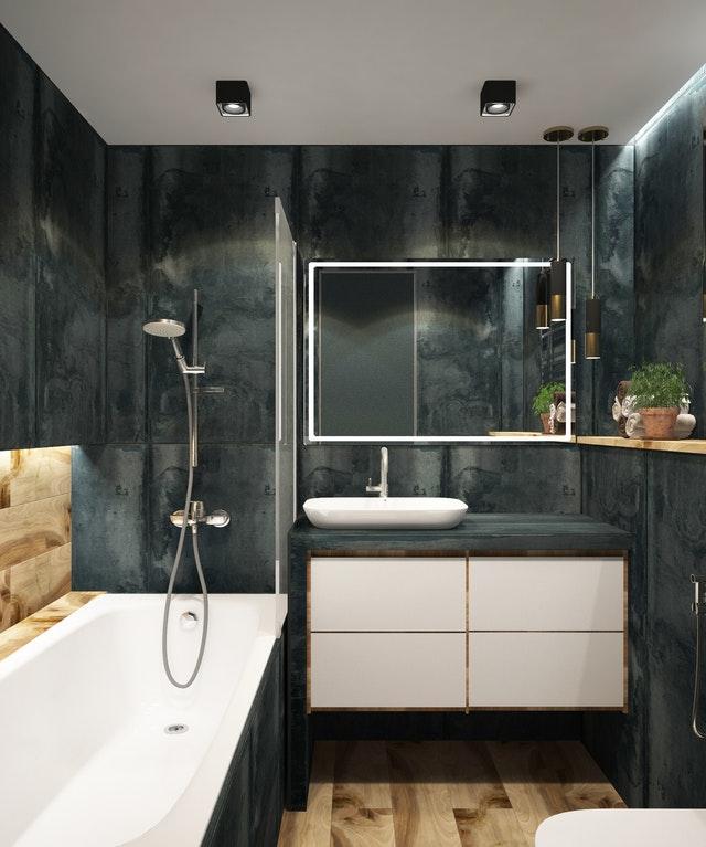 Ideas de baño lujoso