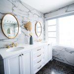 Pequeño baño moderno: Tips para amueblar