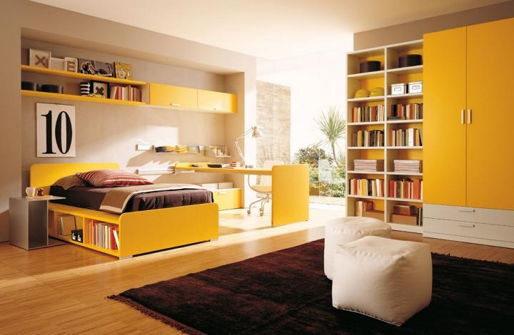 Habitación con color 1