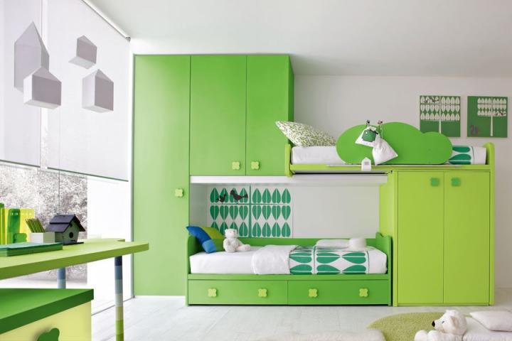 Habitación con color 2